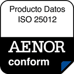 AENOR Seal Data Quality Conform