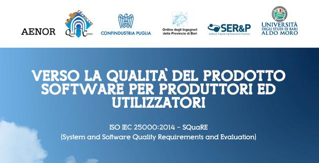 Verso la qualità del prodotto software per produttori e utilizzatori